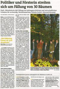 Westfalenpost vom 07.11.2012