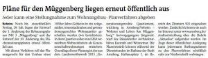 Westfalenpost vom 29.06.2016
