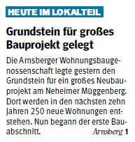 Westfalenpost vom 16.05.2018